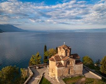 The Church of St. John at Kaneo, Macedonia