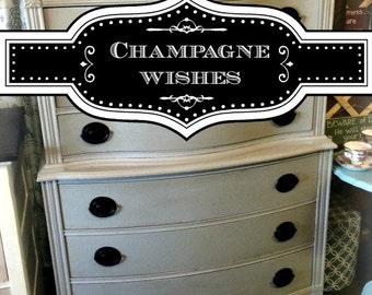 Champagne Wishes - Chalk Finish Paint
