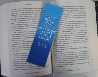 Lady Midnight Inspired Bookmark