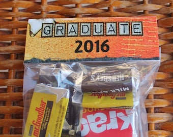 Graduation Goody Bag Toppers