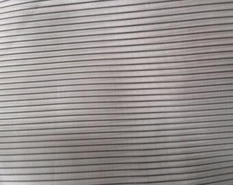 Black Pin Stripe