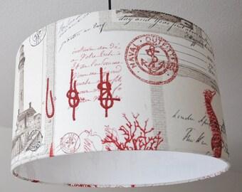 "Ceiling lamp ""Maritim"" (red)"