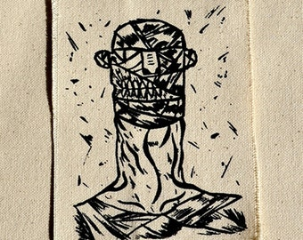 Monster Patch - Mummy Sew-On Patch