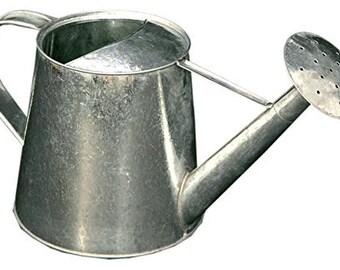 Tin watering can, creative hobbies, decoupage, cm 29x9x15