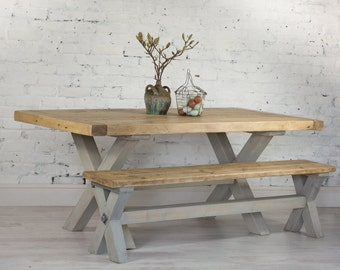Reclaimed Wood Refectory Dining Table