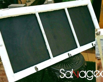 Window frame chalkboard