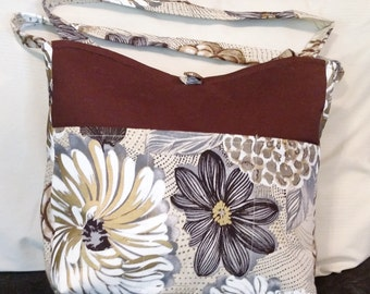 Bold Flowers Purse