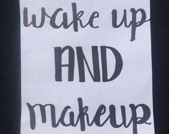 Makeup Canvas Art