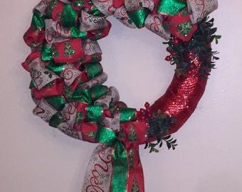 Holly Jolly Christmas Wreath