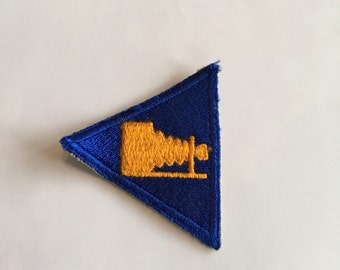 Vintage WWII Army Patch Air Corps Photographer