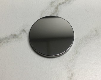 Blank Tungsten Carbide Worry Token - No Hole