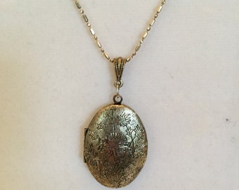Silver Reversible Locket