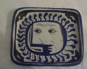 Italian ceramics signed g. Pardi, Warrington