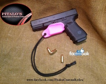 Pitalo's Custom Kydex Trigger Guard That Fits A Smith and Wesson M&P Shield.