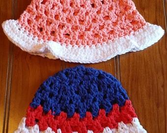 Baby Crochet SunHat
