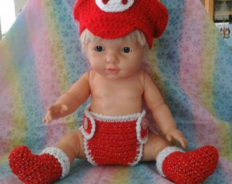 Mario diaper set