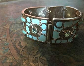 Bob Mackie Enamel Bracelet