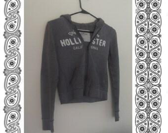Hollister Hoodie Jacket-Gray