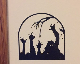Zombies Rising! Vinyl Decal
