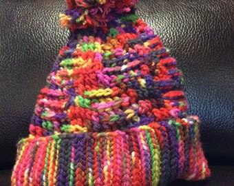 Textured hat