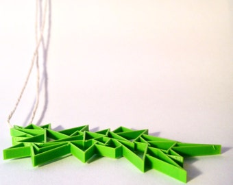 3D Printed Angular Necklace
