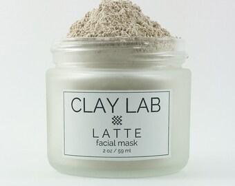 LATTE Clay Facial Mask