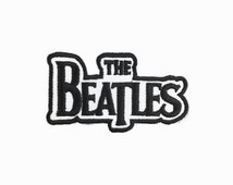 band Patch the beatles Embroidered patch iron on patch band patches badge sew on patch iron on patches