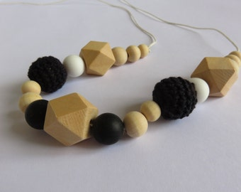 Feeding & teething necklace Midnight