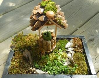 garden wishing well  etsy, Garden idea