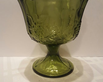 Custom Candle - 22 oz Green Glass Chalice