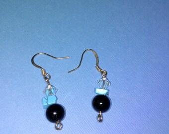 Obsidian Earrings