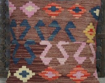 Kilim Patchwork Cushion Cover 40x40 cms