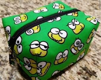 Box Keroppi Zippered Pouch Bag