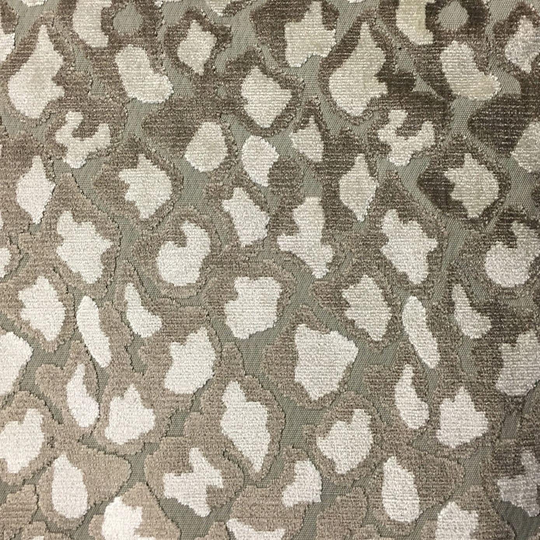 Velvet Upholstery Fabric Hendrix Beach Leopard Print Cut