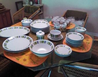 Vintage Mikasa Tropicana Dinnerware