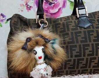 Lacy LolaDora Doll Bag Charm