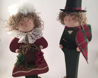 Collectible Christmas Carolers