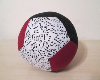 Plush Fabric Ball Soft Stuffed Play Toy for Babies Infants Girls Boys Toddlers 12-Sided Dodecahedron Custom Made