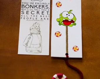 Clay Bookmarks