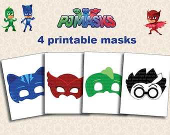 Pj masks printable etsy
