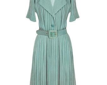 Givenchy Striped Silk Dress