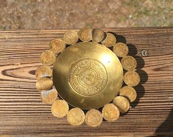 Lucky coins Ash tray , Ash Tray vintage