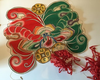 Chinese Hand Painted Paper Kite