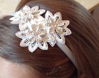 Bridesmaid hair band, Bridesmaid hair accessories, Bridesmaid Hair piece, Bridesmaid Headband, Bridal, Wedding, flower girl accessories,