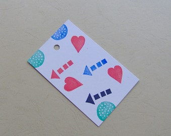 Gift tags, arrow gift tags, heart gift tags, set of 12, Arrow Tags, Thank You Tags, Weddings, Bridal Showers, Baby Shower tags, Favor Tags