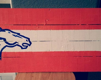 Bronco Sign