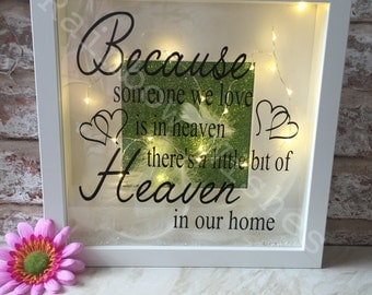 Because we love someone in Heaven