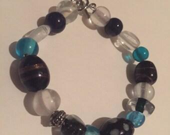 Glass bead braclets