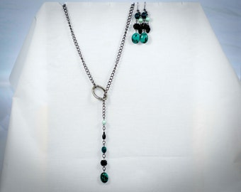 Turquoise Green, Black and gunmetal - CS30