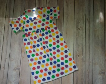 18 month Polkadot Play Dress